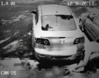 *Clever Car Thief Caught On Tape
