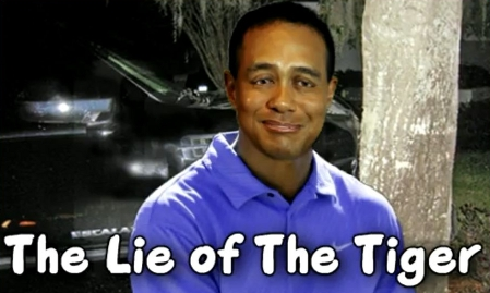 TIger Woods Golf Cadillac Crash