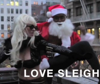 Lady GaGa Does Christmas?