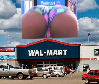 Rump Shaker Video Shot At Walmart