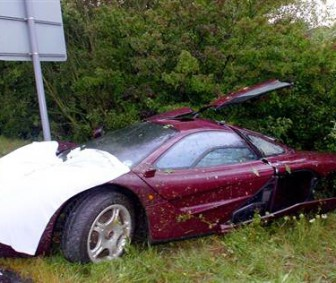 Mr. Bean Wrecks McLaren F1 Supercar