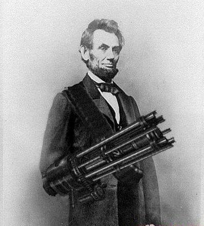 Steampunk Abraham Lincoln
