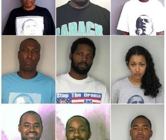 What do these mug shots have in common?