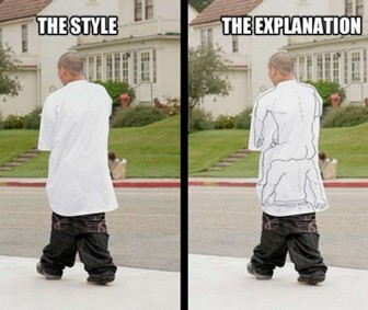 Understanding Sagging Pants and Oversize Tee Shirts