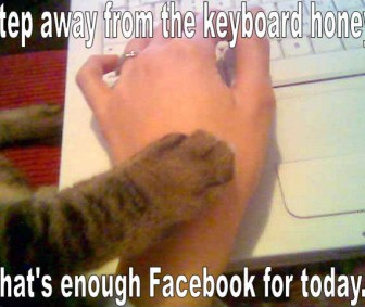 Facebook - Step Away From The Keyboard