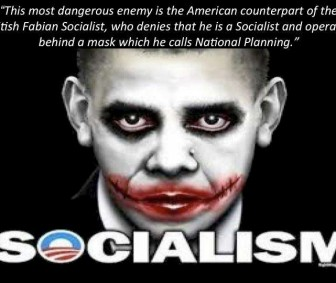 Obama The Socialism Joker