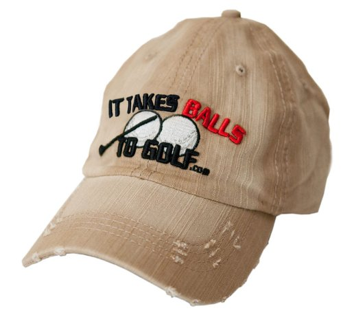 It Takes Balls To Golf Hat