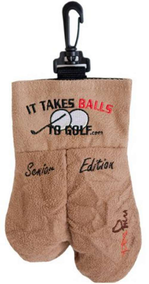 Ball Carrier - It Takes Balls To Golf - Senior Edition