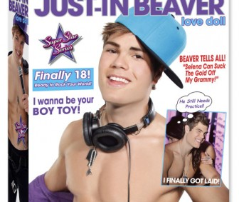 Justin Bieber Just In Beaver Sex Toy Blow Up Doll